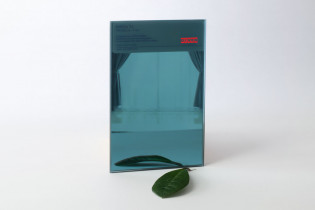 Zrkadlo modré